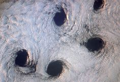 Dark Roasted Blend: Punch Hole Clouds & Other Rarely Seen Cloud Formations
