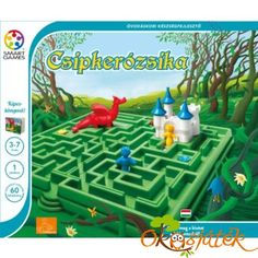Csipkerózsika labirintusos logikai játék gyerekeknek Smart Games Kids Rugs, Outdoor Decor, Kid Friendly Rugs, Nursery Rugs