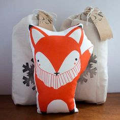 Gingiber Organic Pillow Animals, made-to-order by Stacie Bloomfield in Springdale, Arkansas (from $20)