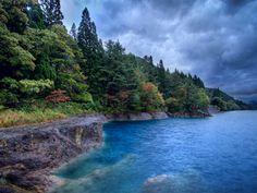 imágenes de agua, lago fondos de pantalla, verano, vector protegida, nubes, fotos abetos, sombríos, fondos azul, cielo imágenes