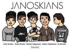 Janoskians are seriously the weirdest Brits ever!!! Gotta love em