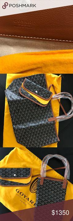 Authentic Goyard St Louis Pm- Brown Brand new, authentic. Goyard Bags Shoulder Bags
