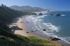 Crescent Beach at Ecola STate Park, Oregon Coast