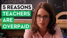 Second City Network - 5 Reasons Teachers Are Overpaid... I actually have family who complain about the benefits of my job.