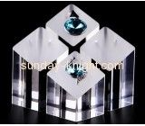 Customized acrylic jewellery display retail display stands jewelry ring stand JDK-066