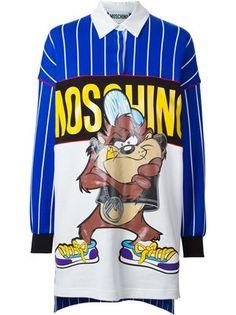 Taz print dress, Moschino