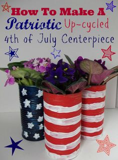 One Savvy Mom™ | NYC Area Mom Blog : Patriotic  DIY 4th of July Decor - How To Make Fun...