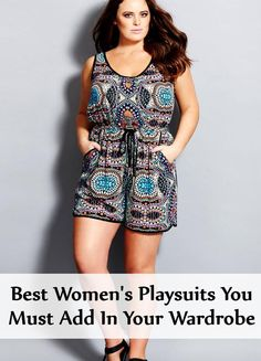 City chic - maya princess playsuit - women& plus size fashion Looks Plus Size, Look Plus, Fashion Vestidos, Women's Fashion Dresses, Womens Fashion Casual Summer, Casual Summer Outfits, Curvy Girl Fashion, Plus Size Fashion, Xl Mode