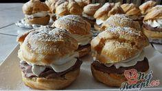 Sypané tvarohové řezy se zakysankou – RECETIMA Sweet Recipes, Cake Recipes, Cafe Bistro, Eclairs, Pavlova, Nutella, Muffin, Food And Drink, Bread