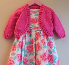 marianna's lazy daisy days: Pink Sparkle Girl's Bolero