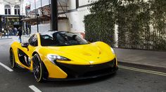 The supercars of London: McLaren P1 #Topgear