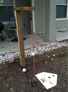 DIY Batting Practice System Homesteading  - The Homestead Survival .Com