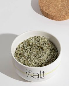 Mediterranean Herbs Flavor Salt is just salt right? A human being can't survive without it as it is a vital mineral our bodies need to function well. Greek Sea, Aromatic Herbs, Ceramic Jars, Grilled Vegetables, Olive Tree, Our Body, Sea Salt, How To Dry Basil, Mineral
