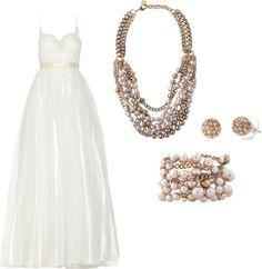 """Sweetheart Strap Wedding with Lucia Necklace"" www.stelladot.com/elizabeth"