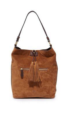 1f73ab618b9e Frye Clara Hobo Bag - Brown Brown Leather Handbags