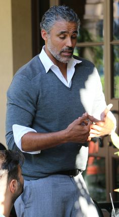 Rick Fox seen out in Beverly Hills 10/21/15