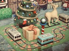 Animal Crossing Town Tune, Nintendo Switch Animal Crossing, Animal Crossing Wild World, Animal Crossing Characters, Animal Crossing Villagers, Animal Crossing Qr Codes Clothes, Christmas Town, Christmas Island, Christmas Markets