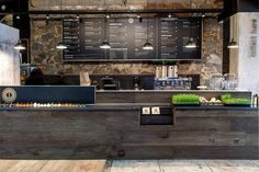 incorporated food display in bar design - Google Search #restaurantdesign