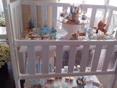 Berco decorado cha de bebe