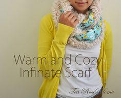Warm and Cozy Infinity Scarf Tutorial