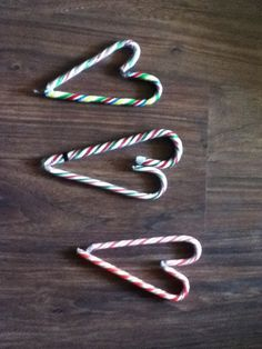 Candy cane harts