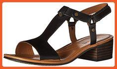 Clarks Women's Reida Ryan Dress Sandal, Black, 6.5 W US - Sandals for women (*Amazon Partner-Link)
