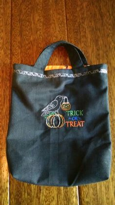 Clementine's trick or treat bag