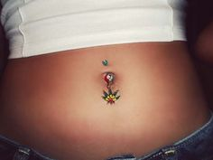 Outie-belly button is a kind of navel piercing having a convex surface. Belly Button Piercing Price, Navel Piercing, Belly Button Rings, Surface Piercing, Antibacterial Soap, Piercing Aftercare, Types Of Piercings, Cotton Swab, Healing