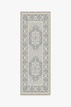 The Hendesi Heriz Abalone Rug is a classic Persian-style rug that features an oversized medallion in the center surrounded by ornate borders. Tinted in neutral colors, this sophisticated rug will elevate any room in your home. Washable Area Rugs, Machine Washable Rugs, Kitchen Rug, Kitchen Decor, Kitchen Runner, Kitchen Furniture, Kitchen Ideas, Kitchen Design, Furniture Design
