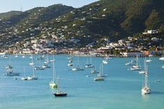St. Thomas - We came here on a cruise and this was our favorite stop. Its a gorgeous island with a really cool beach. We were really nervous but decided to go parasailing and it was so fun and exhilarating!