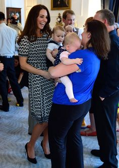 Pin for Later: Prince George Kicks Off His Royal Duties With a Lively Playgroup