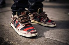 e85b0313a850 freddy krueger custom shoes - Google Search Retro Sneakers