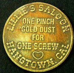 Brothel Token from Lillie's Saloon ..