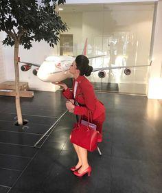 【イギリス】ヴァージン・アトランティック航空 客室乗務員 / Virgin Atlantic Airways cabin crew【UK】 Grace Perry, Virgin Atlantic, Cabin Crew, Dresses For Work, Photo And Video, Instagram, Fashion, Moda, Fashion Styles