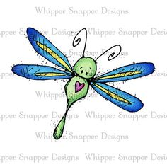 Bugs Dragonfly Illustration, Dragonfly Drawing, Dragonfly Wall Art, Butterfly Drawing, Cute Cartoon Drawings, Art Drawings For Kids, Doodle Drawings, Painted Rocks Craft, Animal Doodles