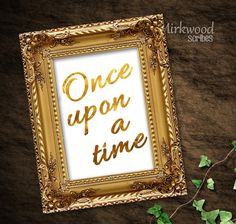 This listing is for a Once Upon A Time sign instant download printable. This will be the perfect addition to a storybook themed wedding or shower. You get 3 colors, use all of them or choose the one that best fits your theme. Black, Navy or Metallic Gold. It will not actually be metallic, instead it is a high res image of gold foil. You will receive 3 seperate 5x7 JPG files after purchasing. You may print on your own printer, or at a copy and print/photo store, such as Wal-Mart, Staples...