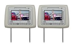 Ouku  7 Inch Car Headrest DVD Player With Games1 Pair With BuiltIn Speaker  Easy Installation * Read more  at the image link. (Note:Amazon affiliate link)