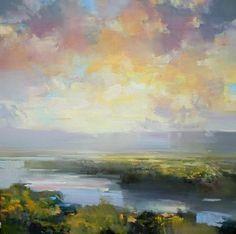 "Mountain Air by craig mooney Oil ~ 48"" x 48""   Art : Paintings of ..."