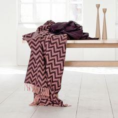 Zigzag plaid fra Elvang - flere farver - Elvang - DesignFund