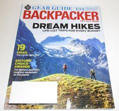 Backpacker Magazine Nov 2016 Gear Guide Editor Choice Award Hiking Camping Trail #ActiveInterestMedia