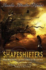The Keisha'ra Series by Amelia Atwater-Rhodes  contains snake charm falcon dance, wolfcry, wyvernhail, hawksong.