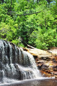 Carvers Falls Fayetteville North Carolina NC waterfalls
