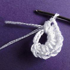 Návod na háčkované vánoční ozdoby 1 Crochet Necklace, Mini, Crochet Collar