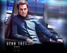 """Star Trek-- so I went to the theaters today to see """"Oz"""" ((ugh btw don't even BOTHER)) and the commercial came on and I swear I almost fell out of my chair I was so fricking excited... Got some weird looks for the strangled involuntary little EEEP! That came out of my mouth when Ben came on screen x3"""