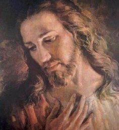 Sweet face of Jesus.