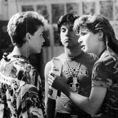 Corey Haim Young, Corey Feldman Corey Haim, The Lost Boys 1987, 90s Movies, Vampire Hunter, Hot Actors, Stand By Me, Vintage Movies, Hot Boys