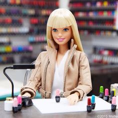 Nail  salon  for Barbie