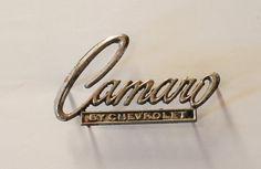 Vintage Cheverolet Camaro Metal Car Emblem by TheVintageRoad2Retro, $15.00