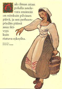 SEITSEMÄN VELJESTÄ Ancient History, Finland, Music, Books, Image, Design, Art, Historia, Musica