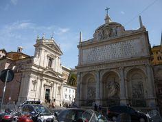 Santa Maria della Vittoria y Fontana Acqua Vergine